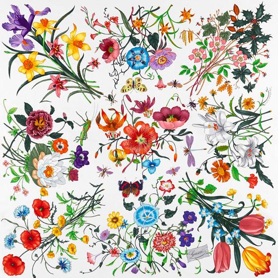 """Cole & Son Gucci """"Flora"""" wallpaper"""