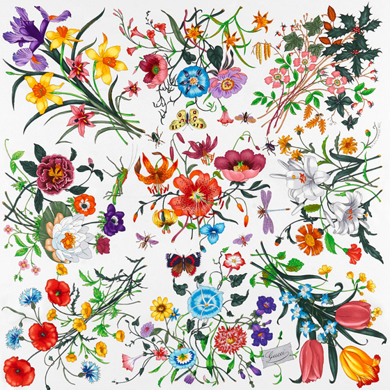"Cole & Son Gucci ""Flora"" wallpaper"