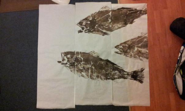 Mulloway prints all done