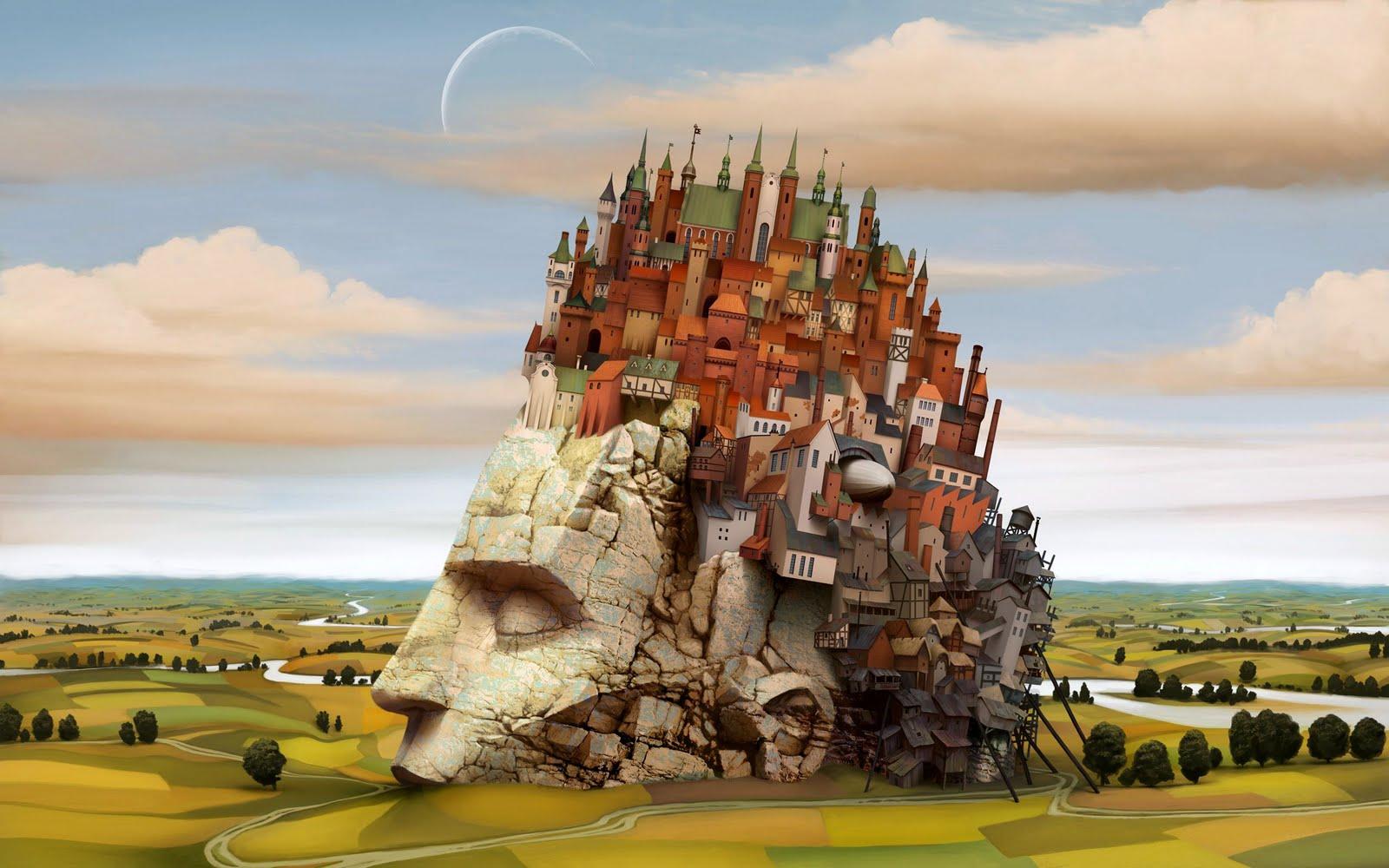 Artist Inspiration : Jacek Yerka   AlyZen Moonshadow